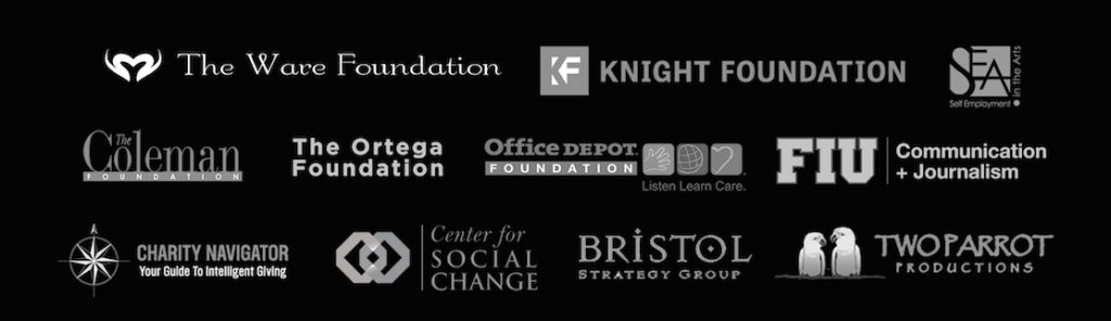 EOYM Sponsor Logo Image Knight Foundation Ortega Foundation Ware Foundation Bristol Strategy Group Coleman Foundation Charity Navigator SEA Conference Self Expression in the Arts Center For Social Change